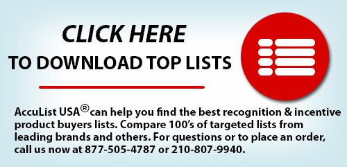 Click here to download Promotional Products Buyers list